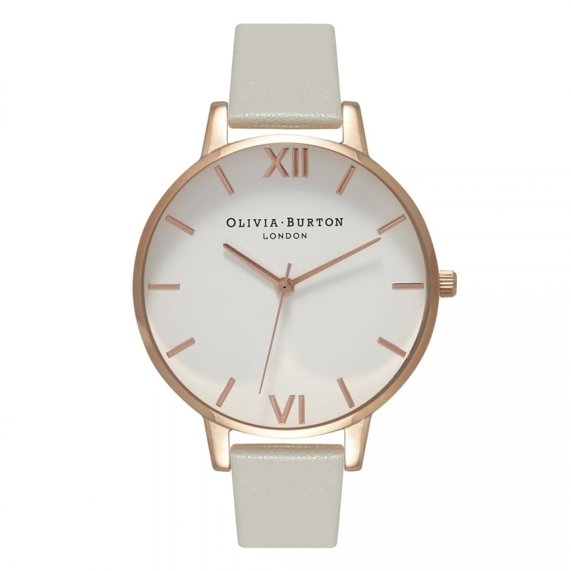 Olivia Burton Big Dial Grey and Rose Gold-31