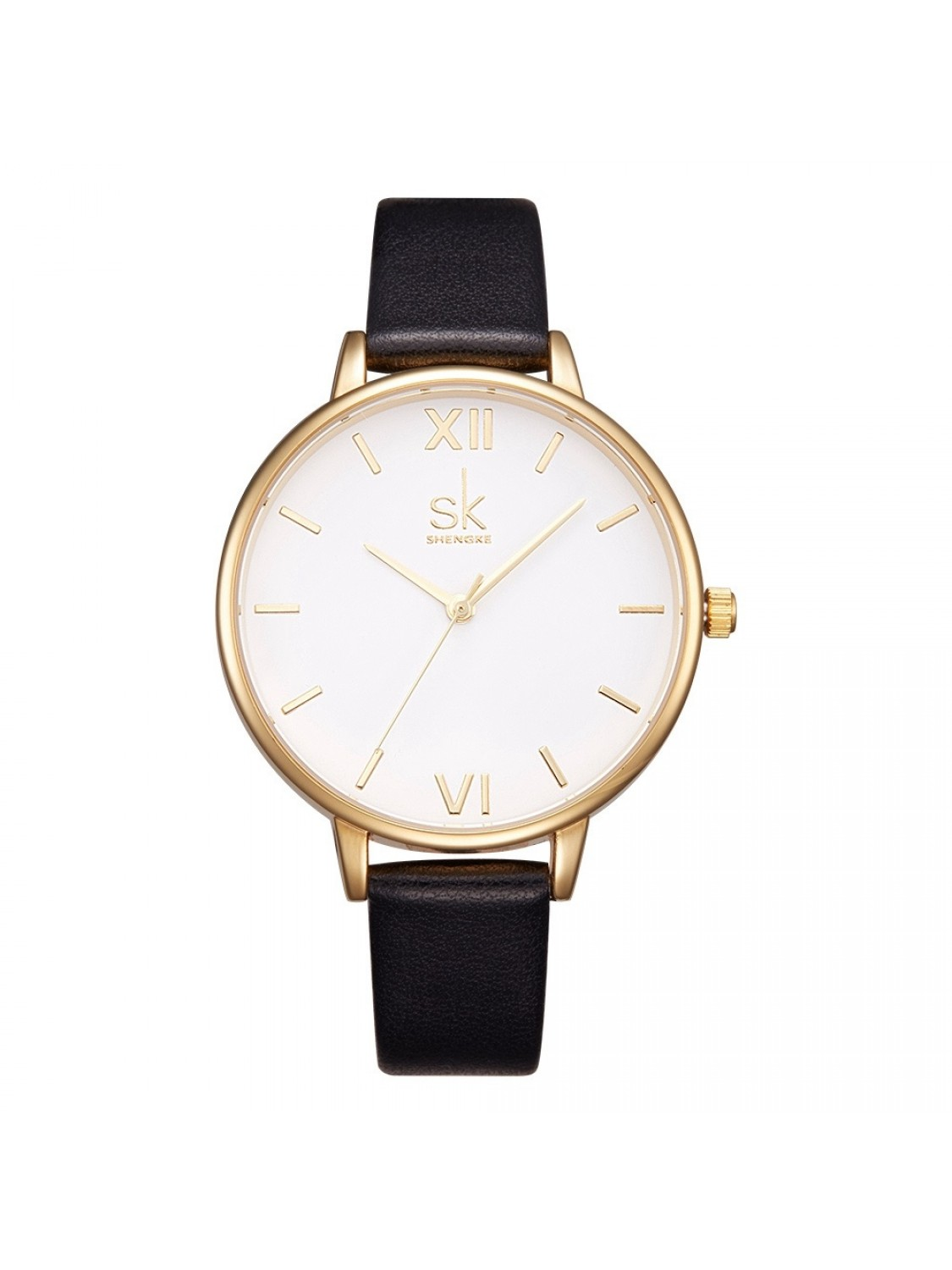 Sinobi Classic White/Gold Leather-31