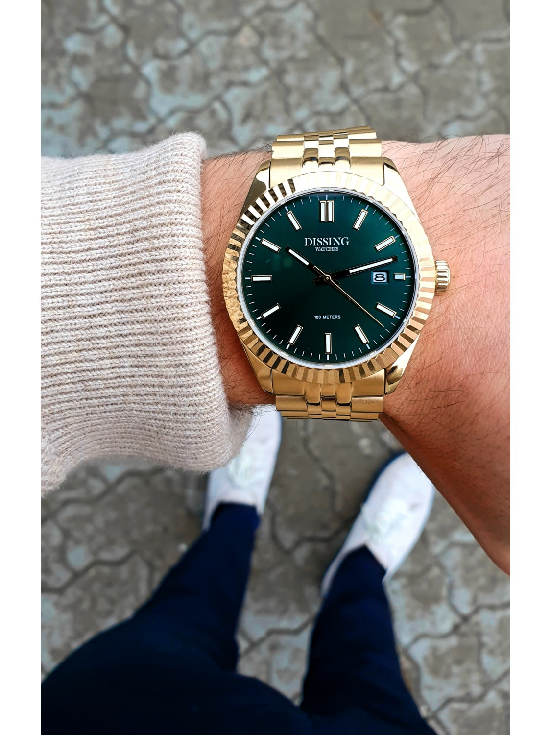 Dissing Date Gold/Green-024