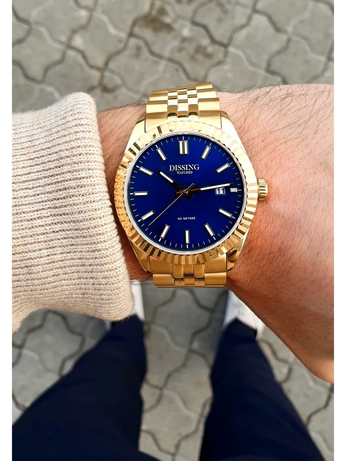 Dissing Date Gold/Blue-021