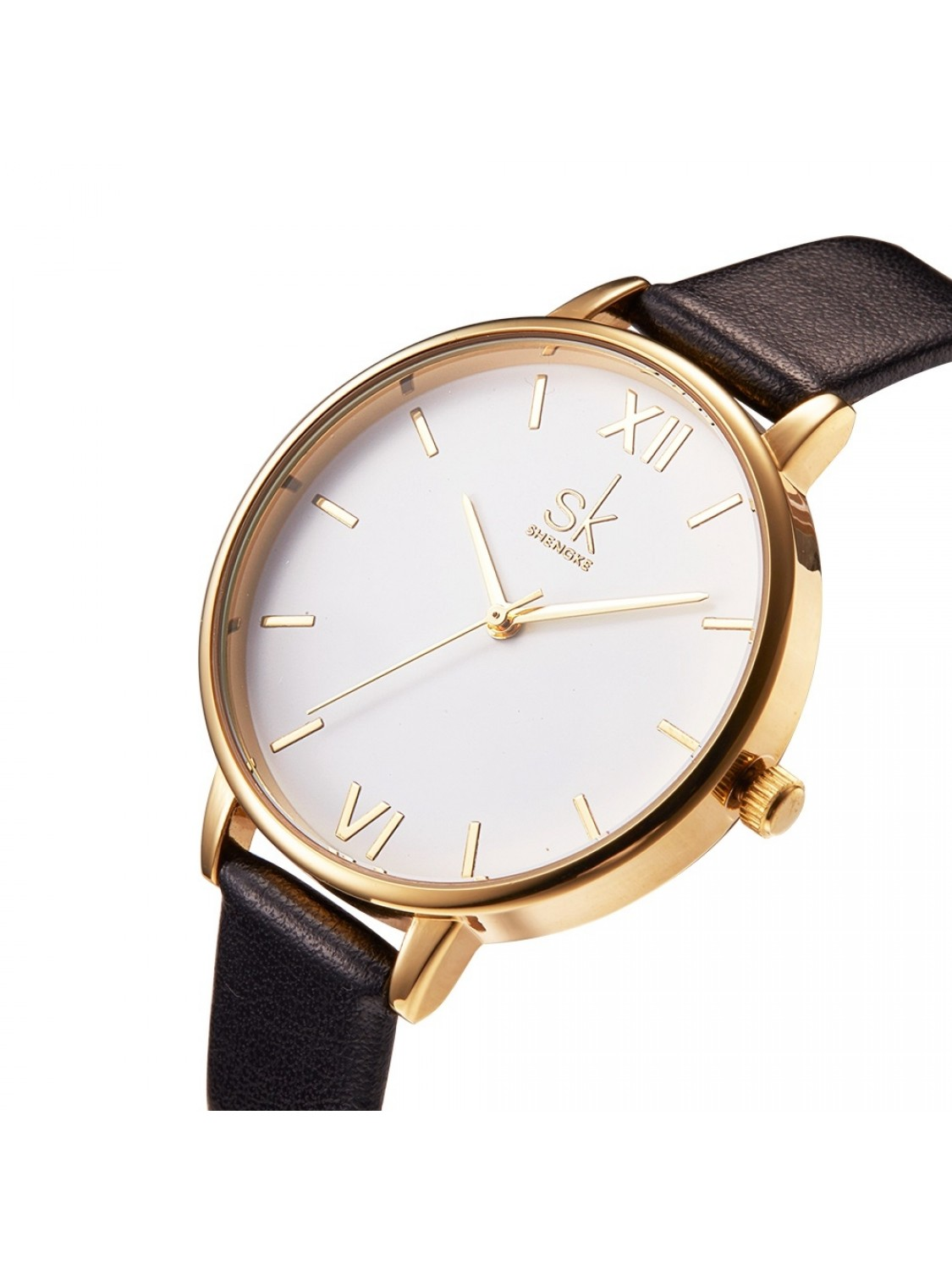 Sinobi Classic White/Gold Leather-01