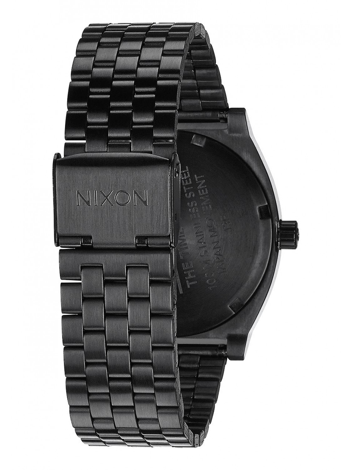 Nixon Time Teller All Black Rose Gold-30