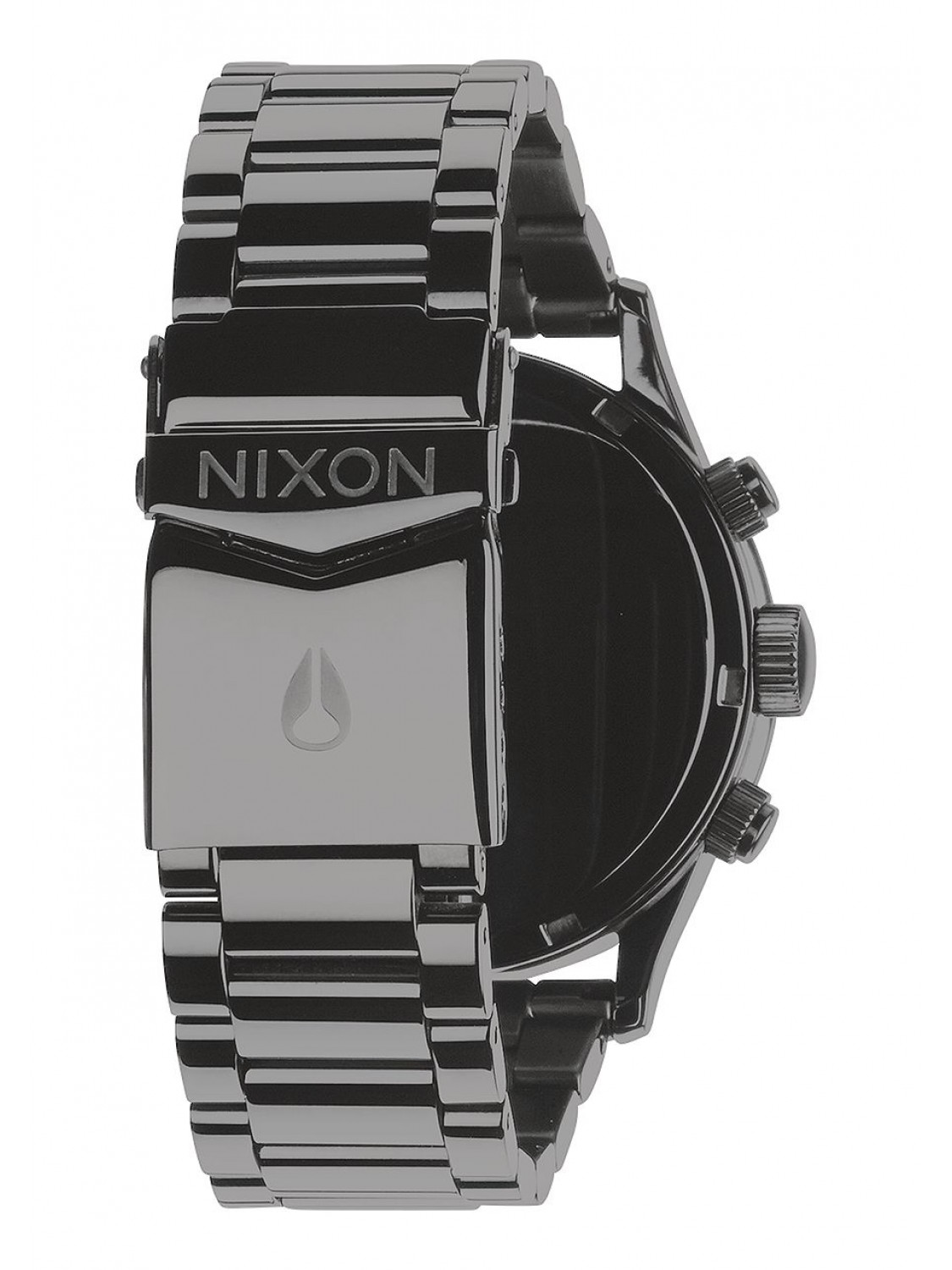 Nixon Sentry Chrono Polished Gunmetal/Lum-30