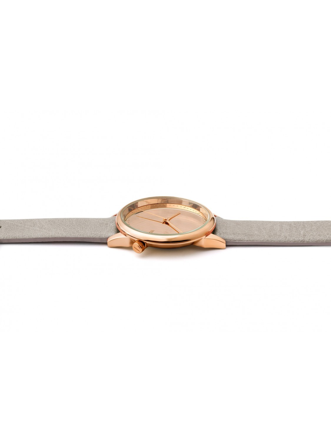 Komono Estelle Mirror Rose Gold Grey-30