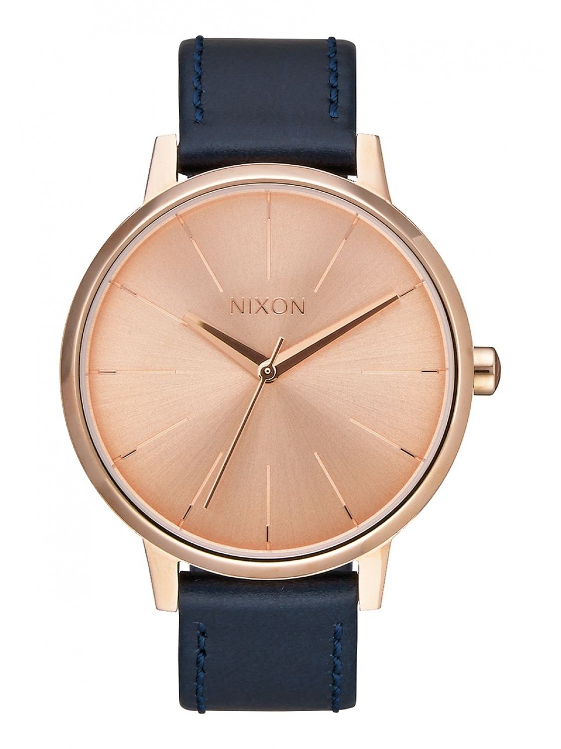 Nixon Kensington Leather Rose Gold/Navy-30