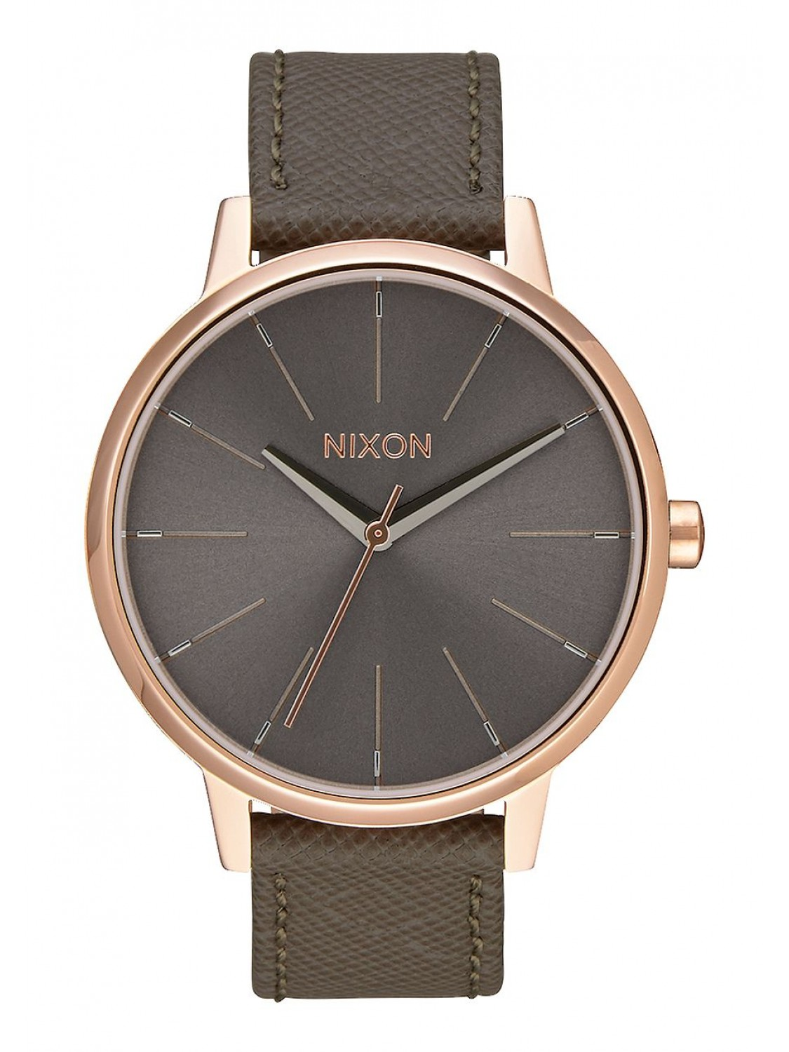 Nixon Kensington Leather Rose Gold Taupe-00