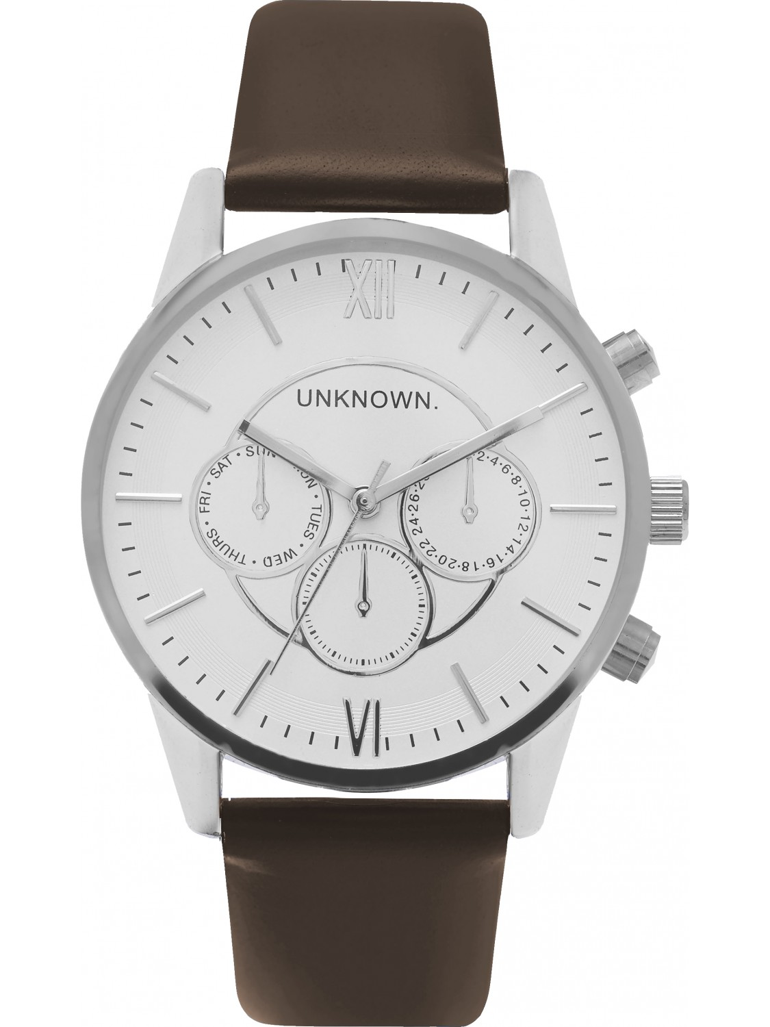 UNKNOWN The Engineered Brown and Silver-00