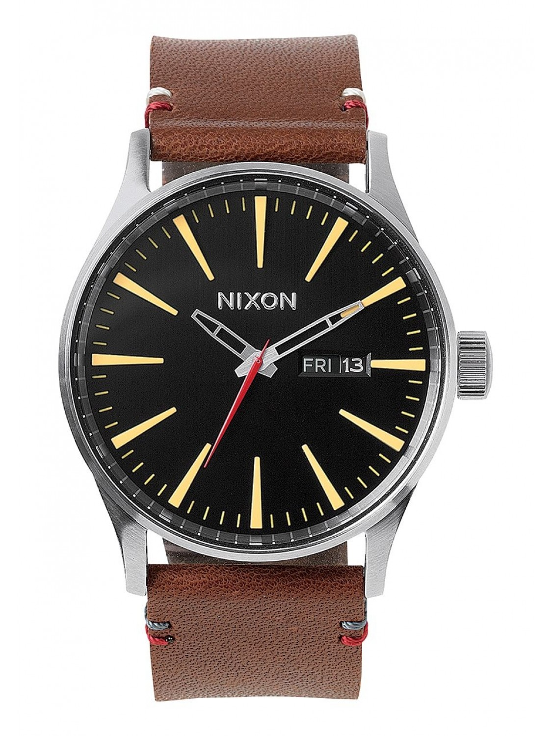 Nixon Sentry Leather Black/Brown-31