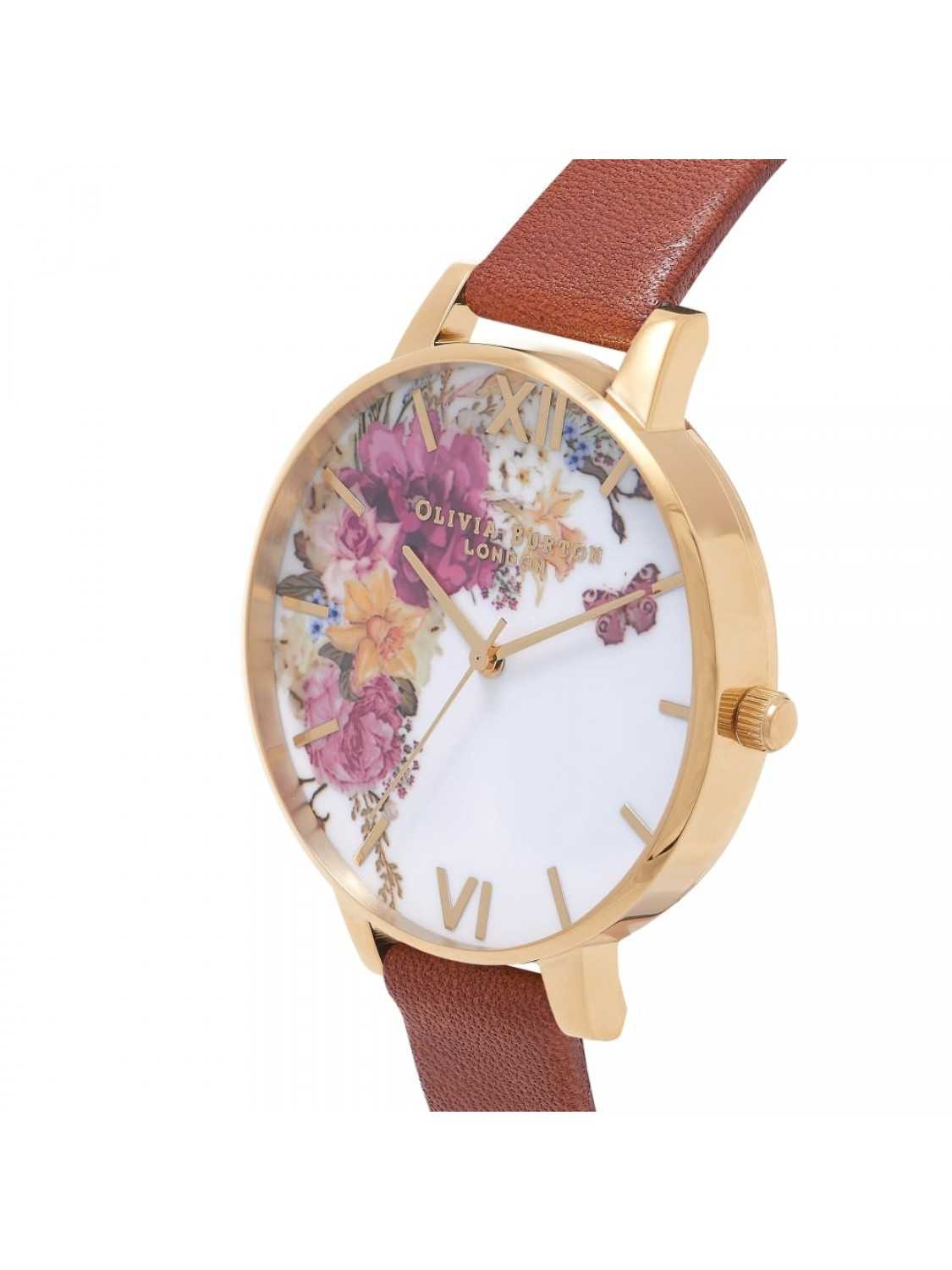 Olivia Burton Enchanted Garden Tan & Gold OB16EG94