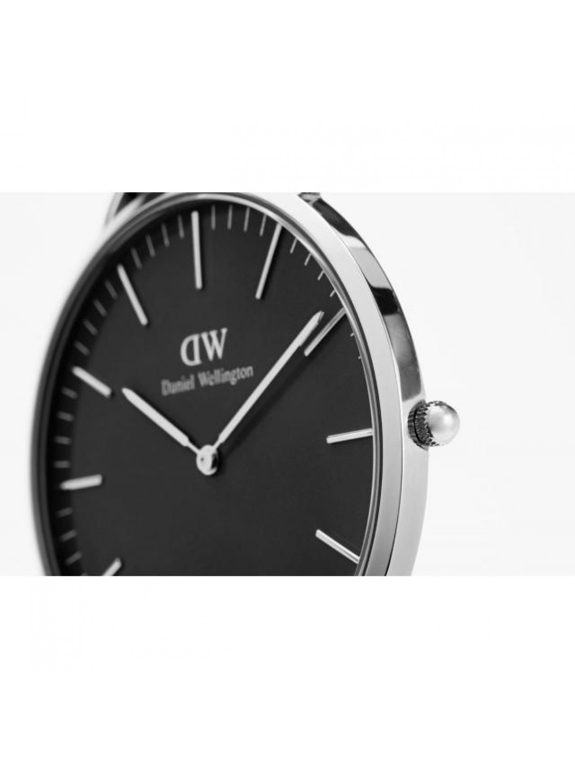 Daniel Wellington Cornwall black silver 36 mm.-30