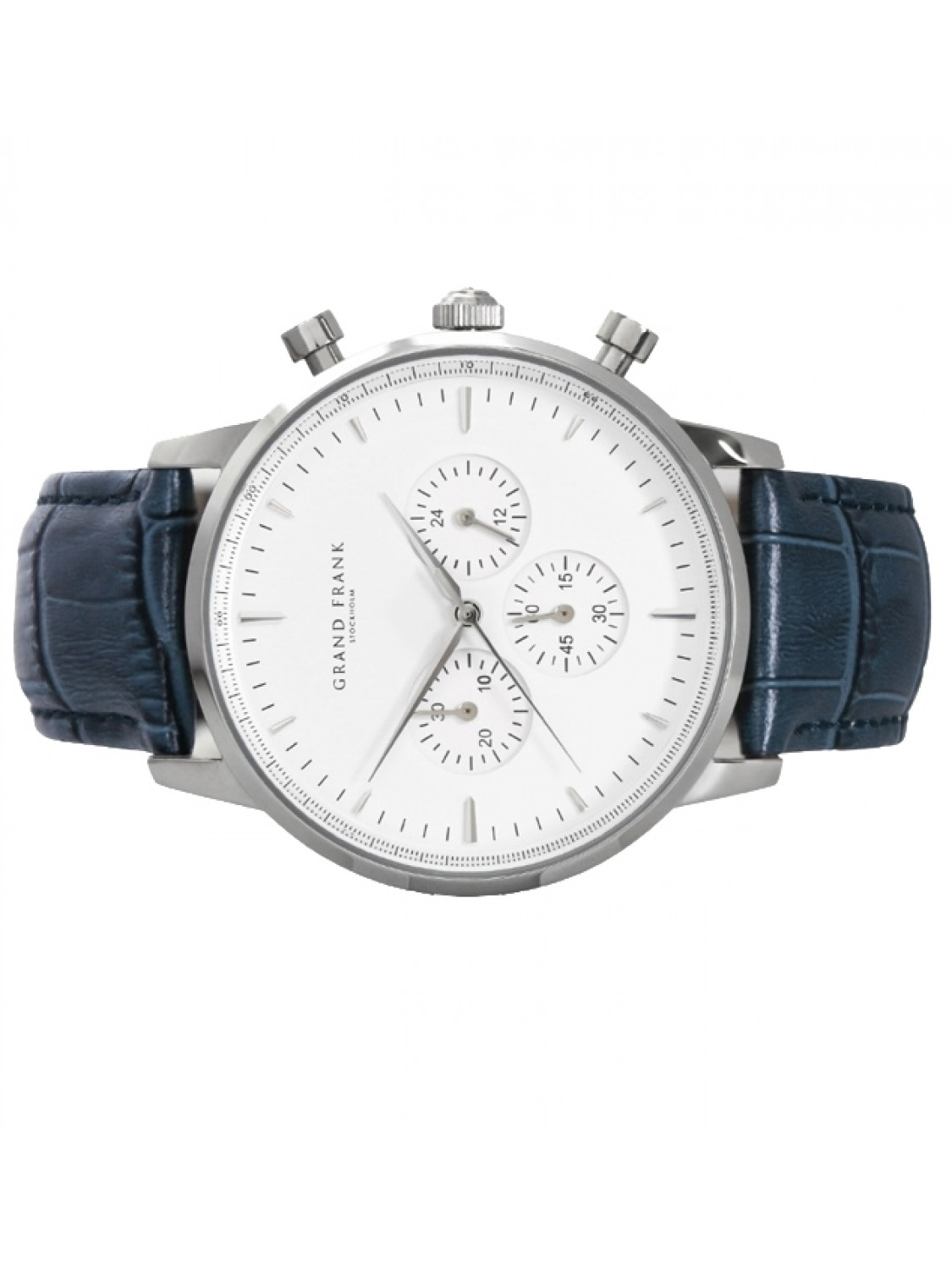 Grand Frank Montpellier White Chronograph-313
