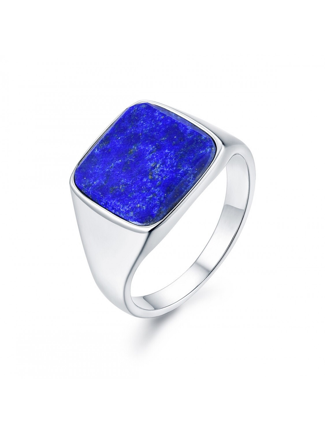 Northern Legacy Lapis Signature Ring Silver-31