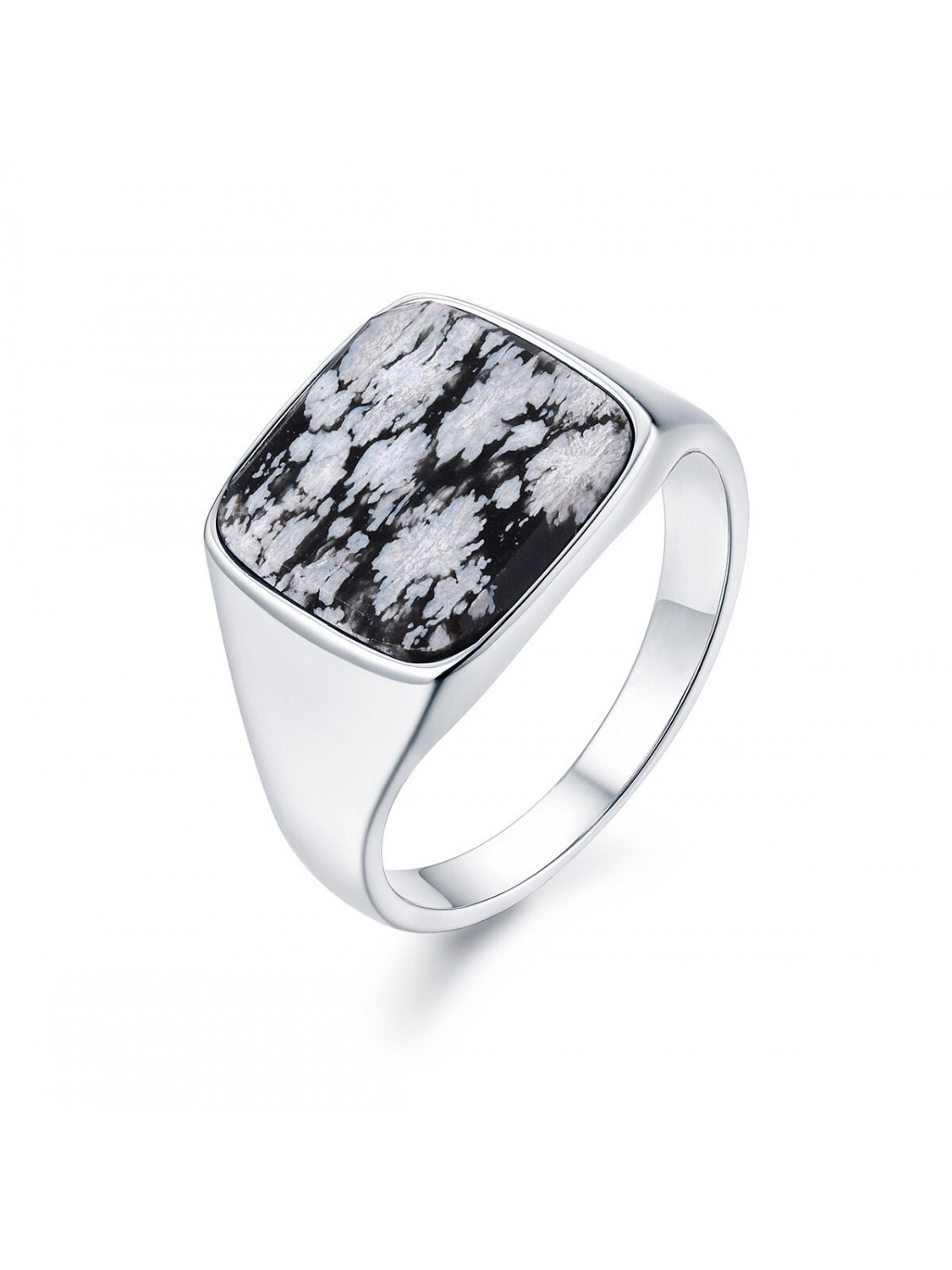 Northern Legacy Snowflake Signature Ring Silver-31