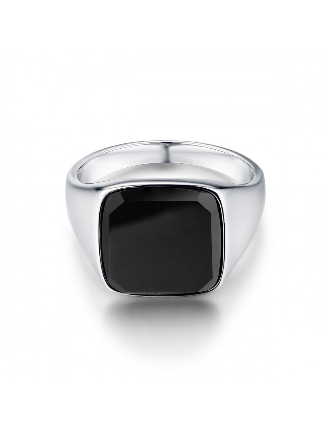 Northern Legacy Black Onyx Signature Silver Ring-312