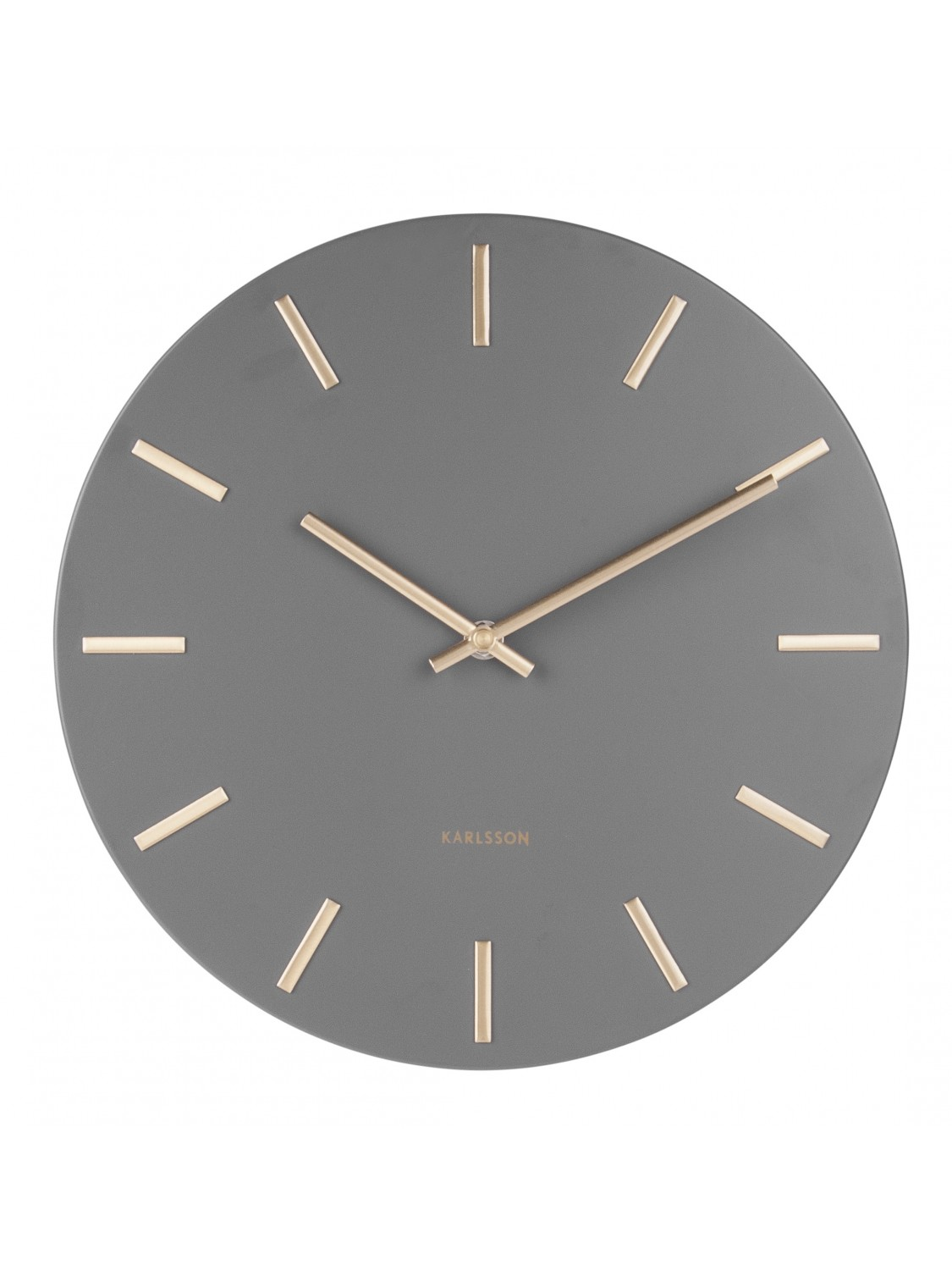 Karlsson Wall Clock Charm KA5821GY-363