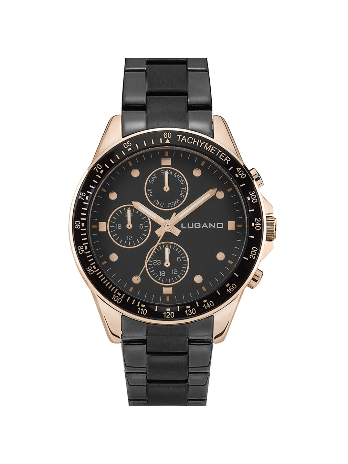 Lugano Chrono Black/Black-324