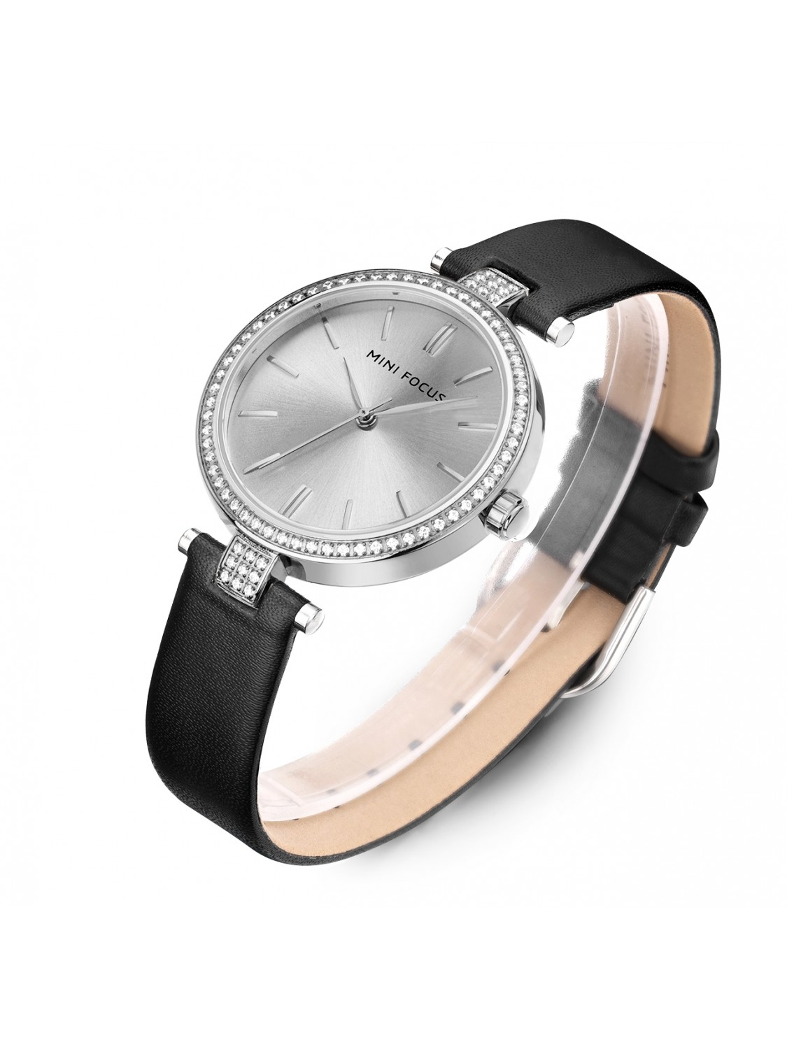 Megir Mini Focus Silver Leather-31