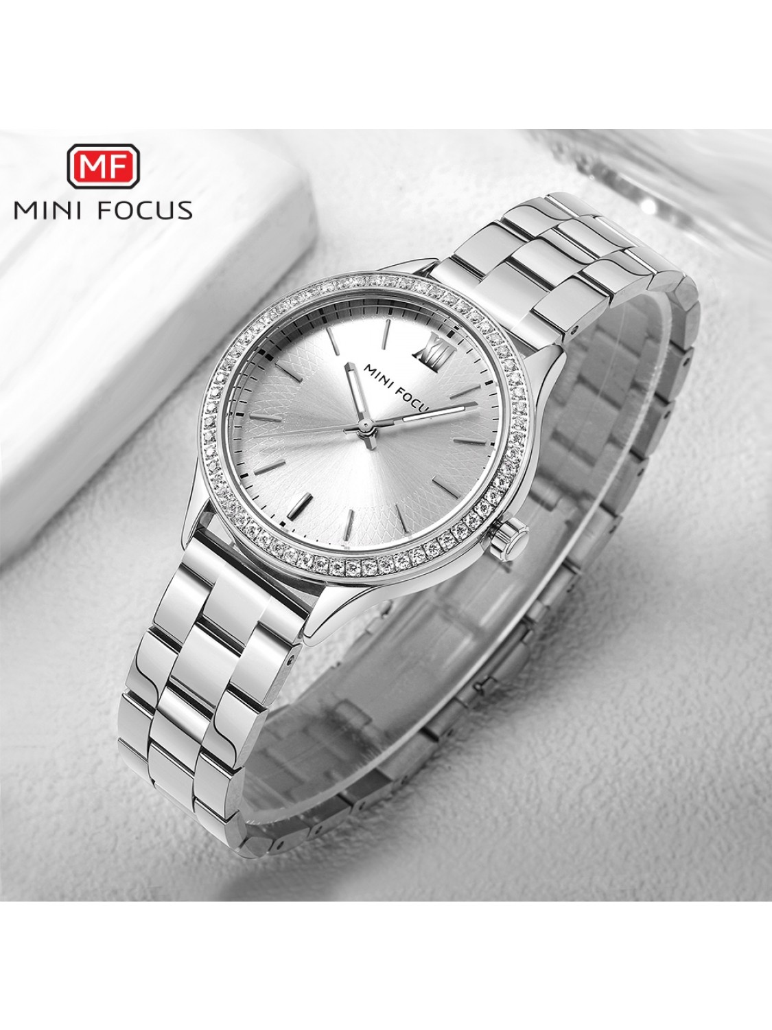 Megir Mini Focus MF0043 Silver-024