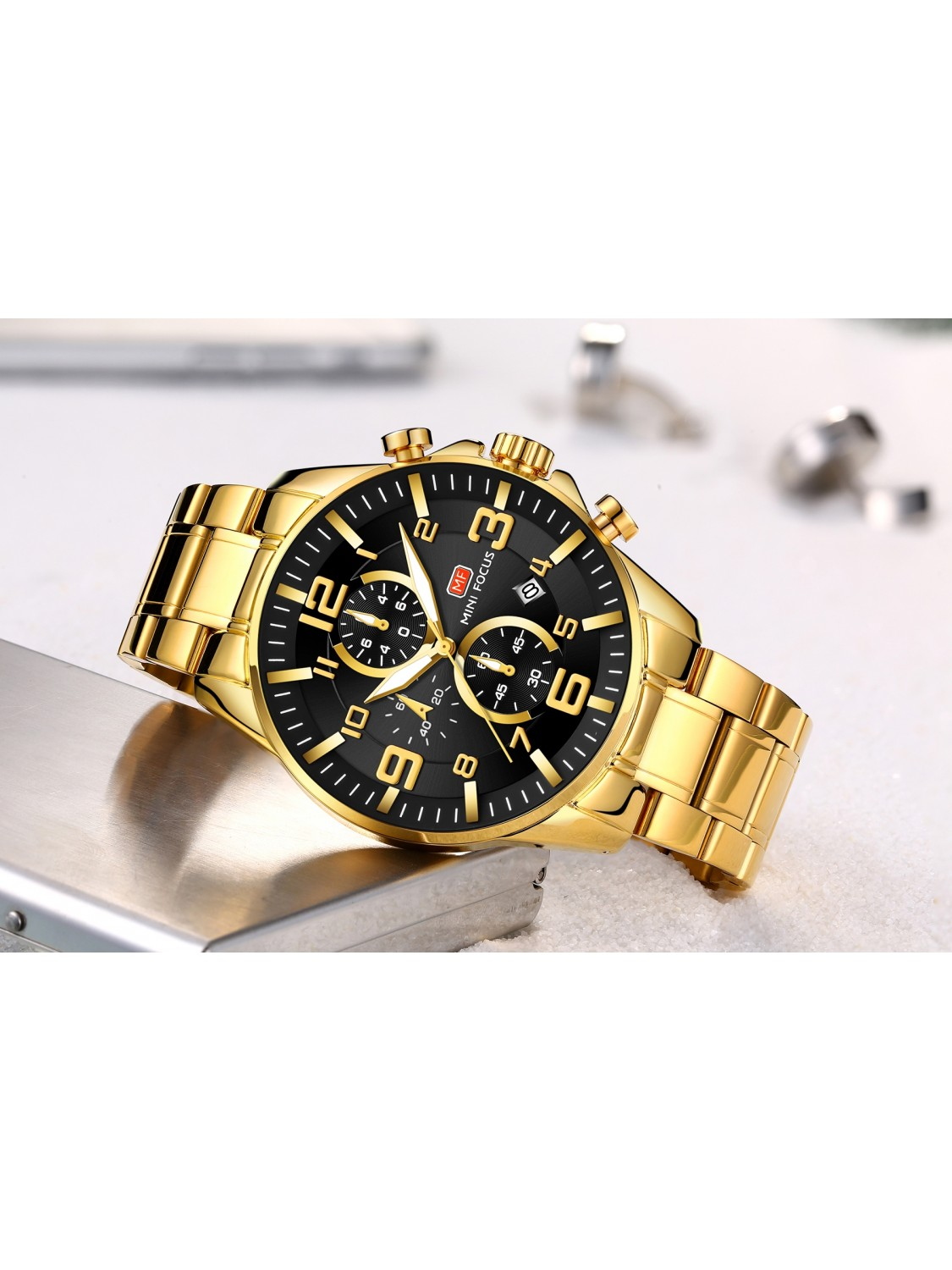 Megir Mini Focus MF0278 Gold/Black-039