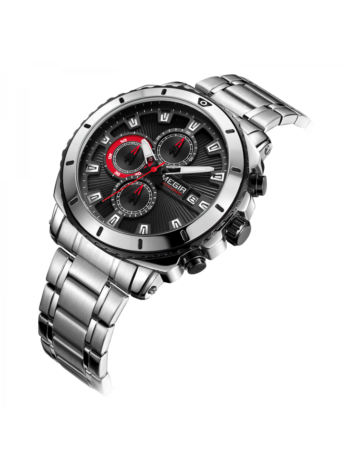 Megir M2075 Steel/Black-344