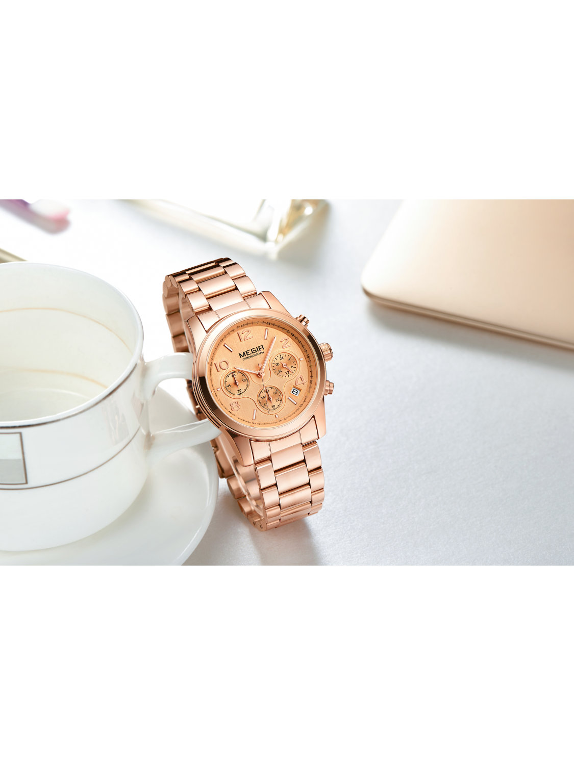 Megir MF2057 Chrono Rose-336
