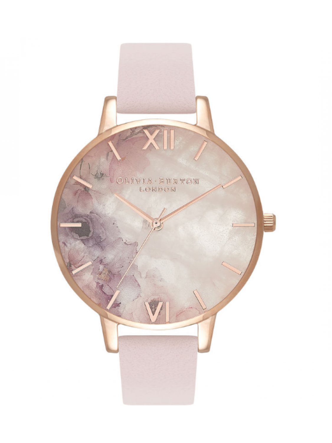 Olivia Burton Semi Precious Blossom and Rose Gold-38