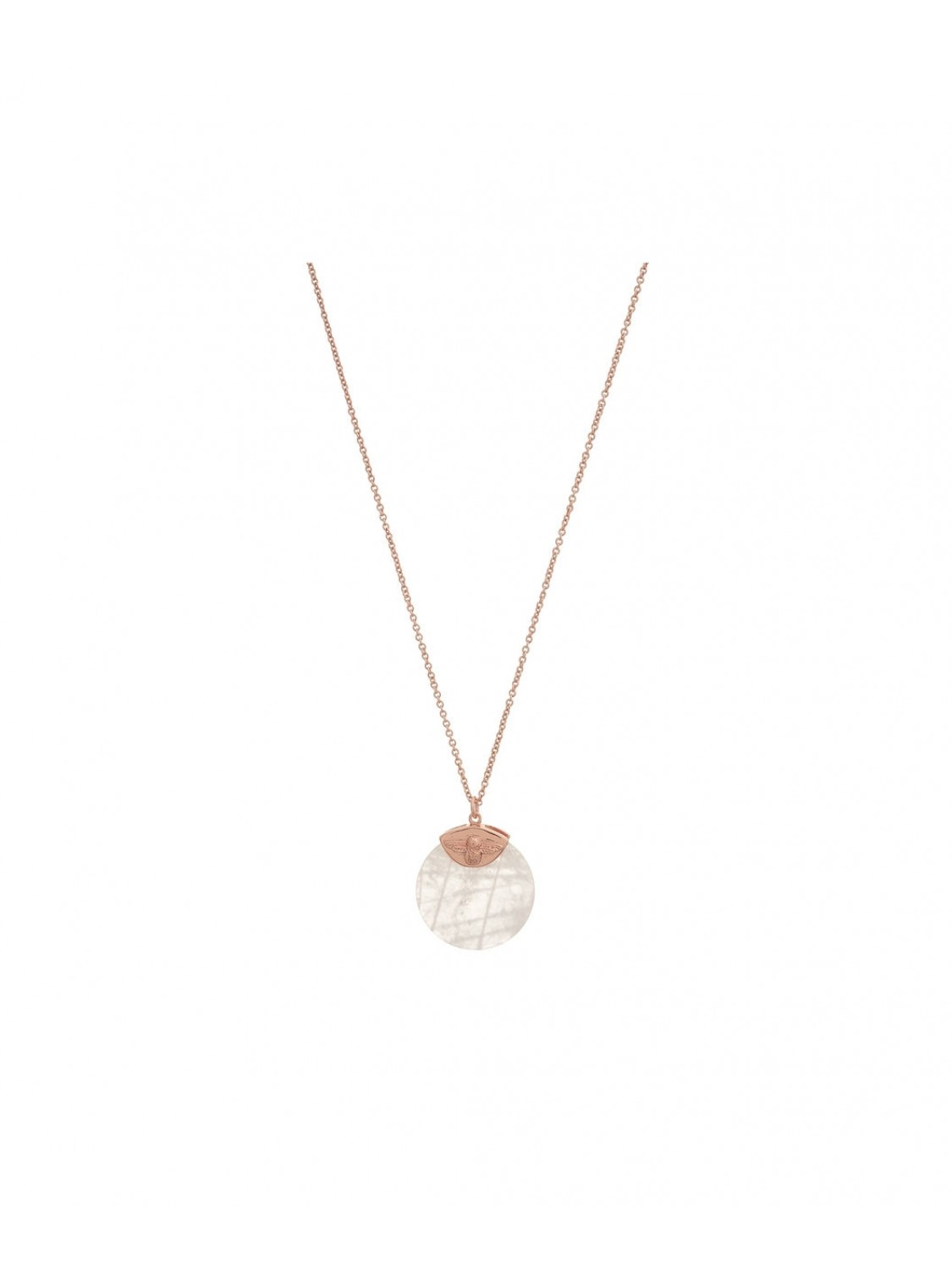 Olivia Burton Bee Coin Necklage Bejewelled-329