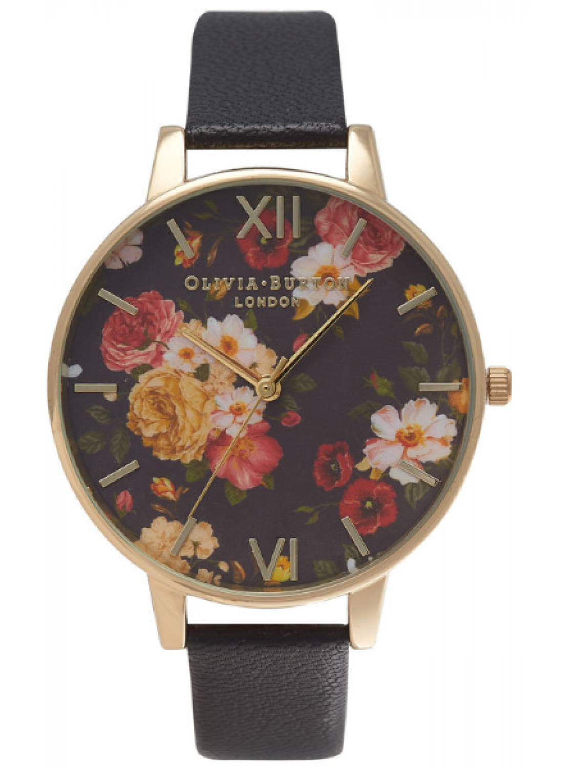 Olivia Burton Winter Garden Black and Gold-31