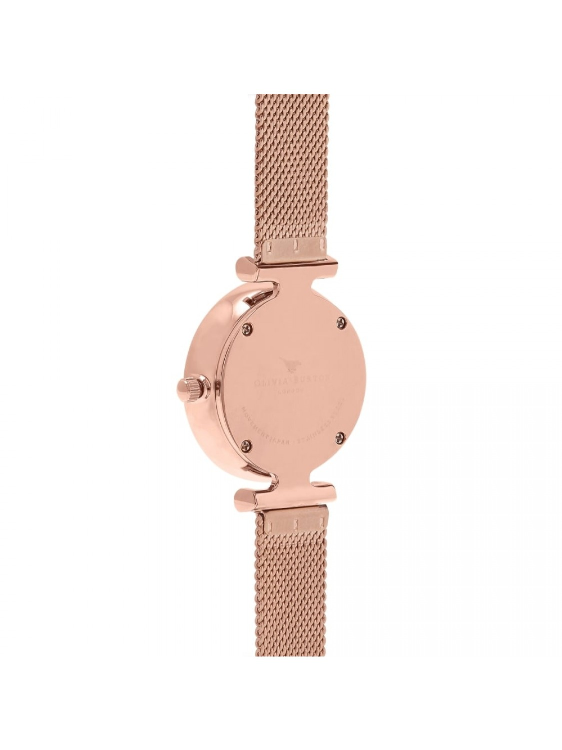 Olivia Burton Queen Bee Rose Gold Mesh-314
