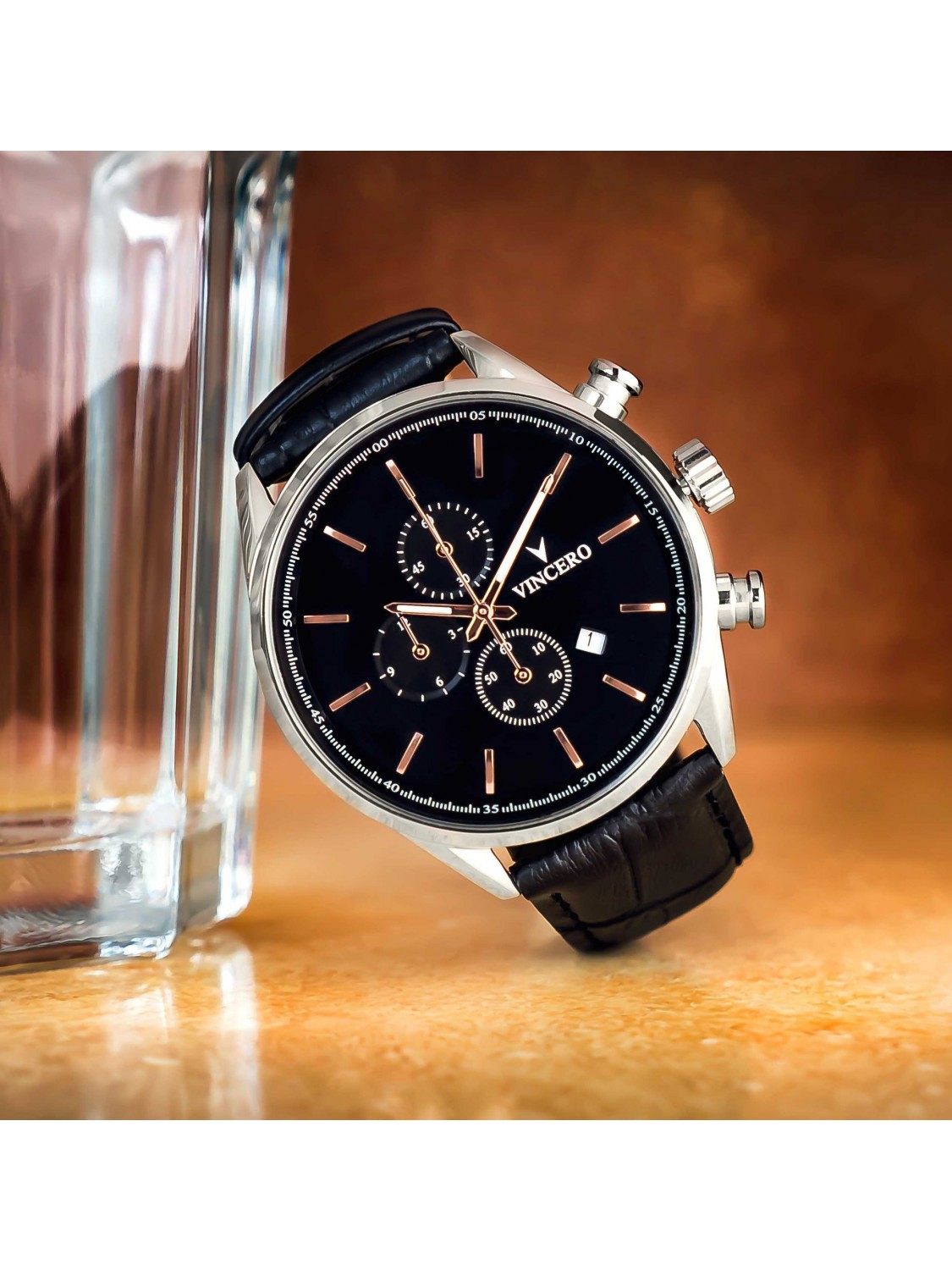 Vincero Chrono S Black/Rose Gold-31