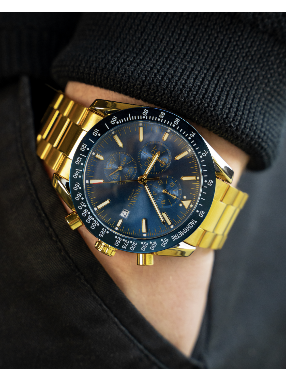 Dissing Chrono Blue/Gold-015