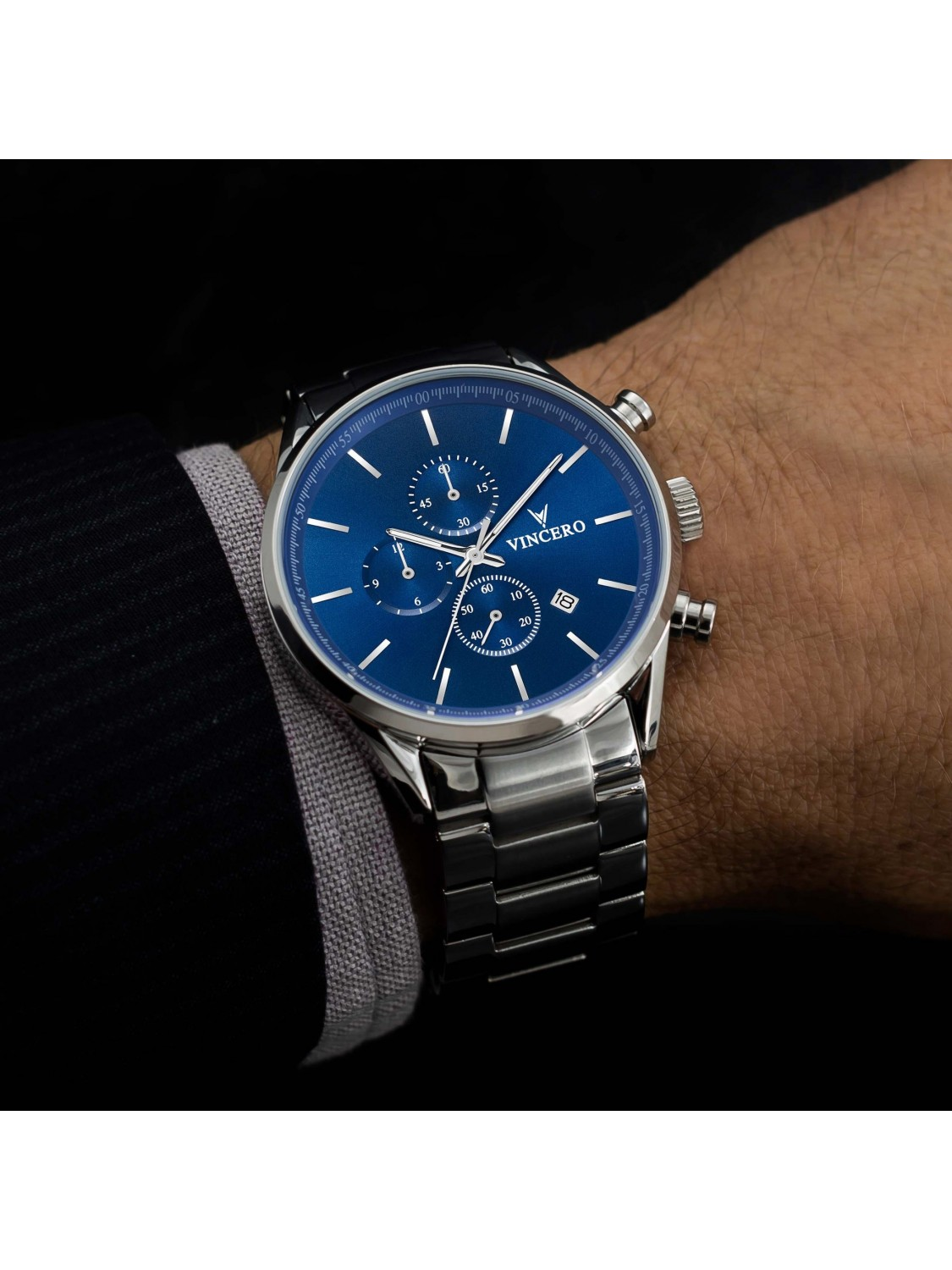 Vincero The Chrono S Blue Steel-310
