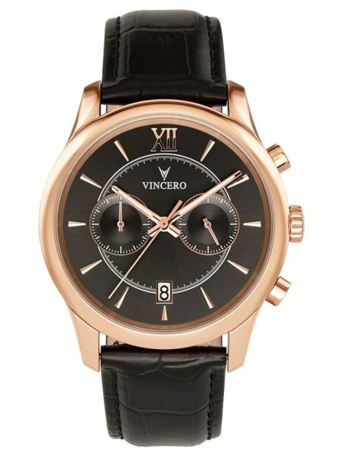 Vincero The Bellwether Rose Gold Black-31