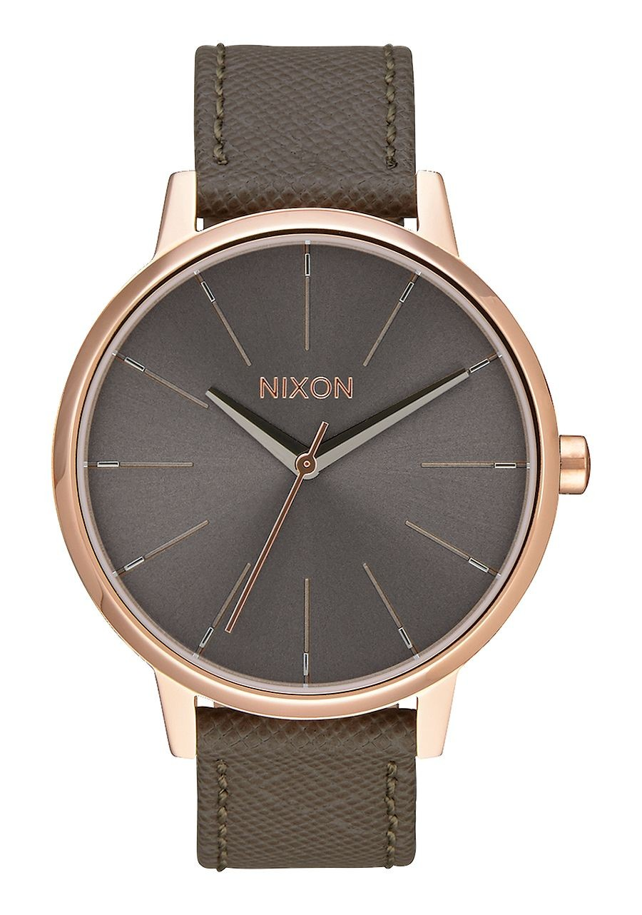Nixon Kensington Leather Rose Gold Taupe-30