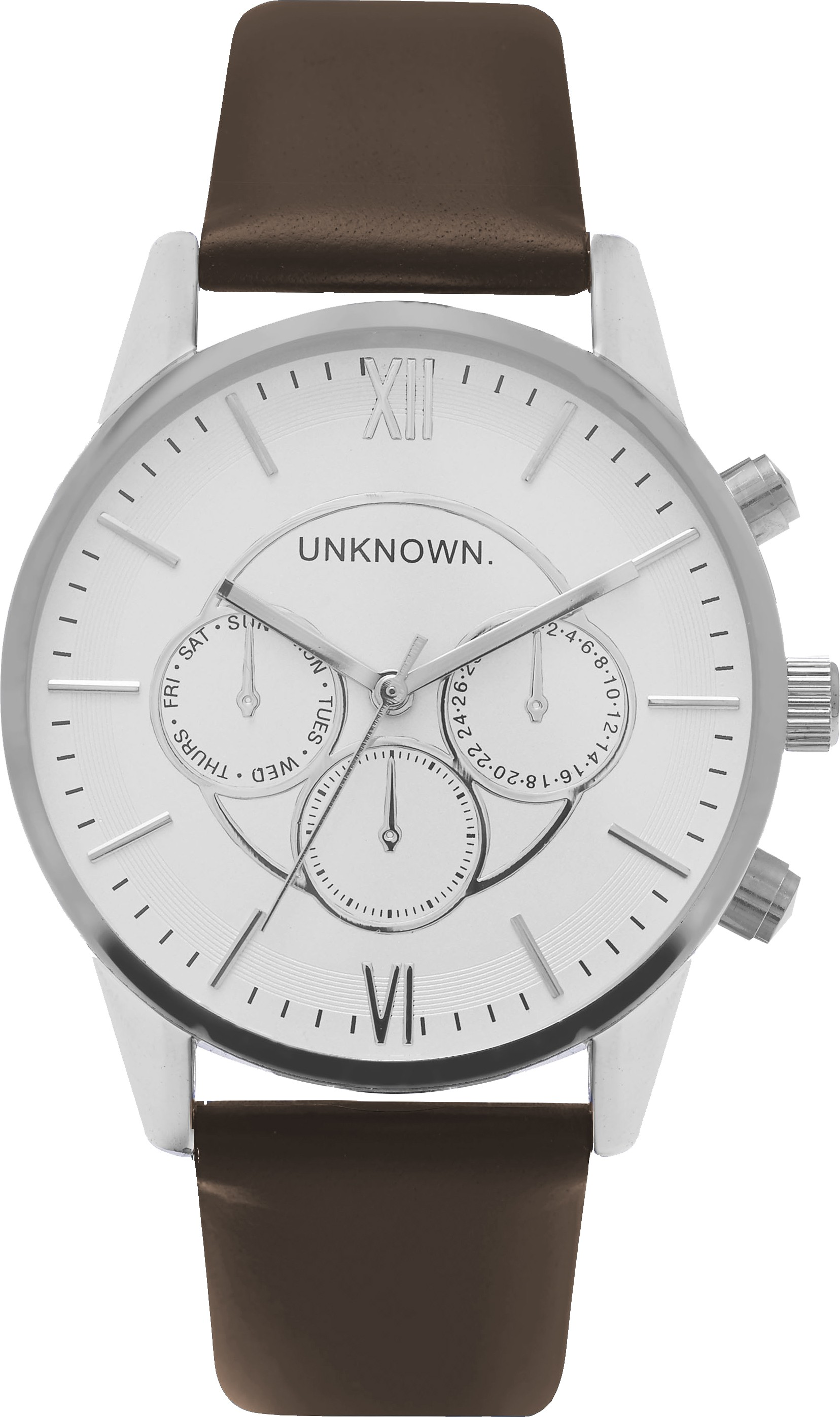 UNKNOWN The Engineered Brown and Silver-30