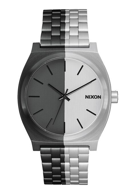 Nixon Time Teller Black And White-313