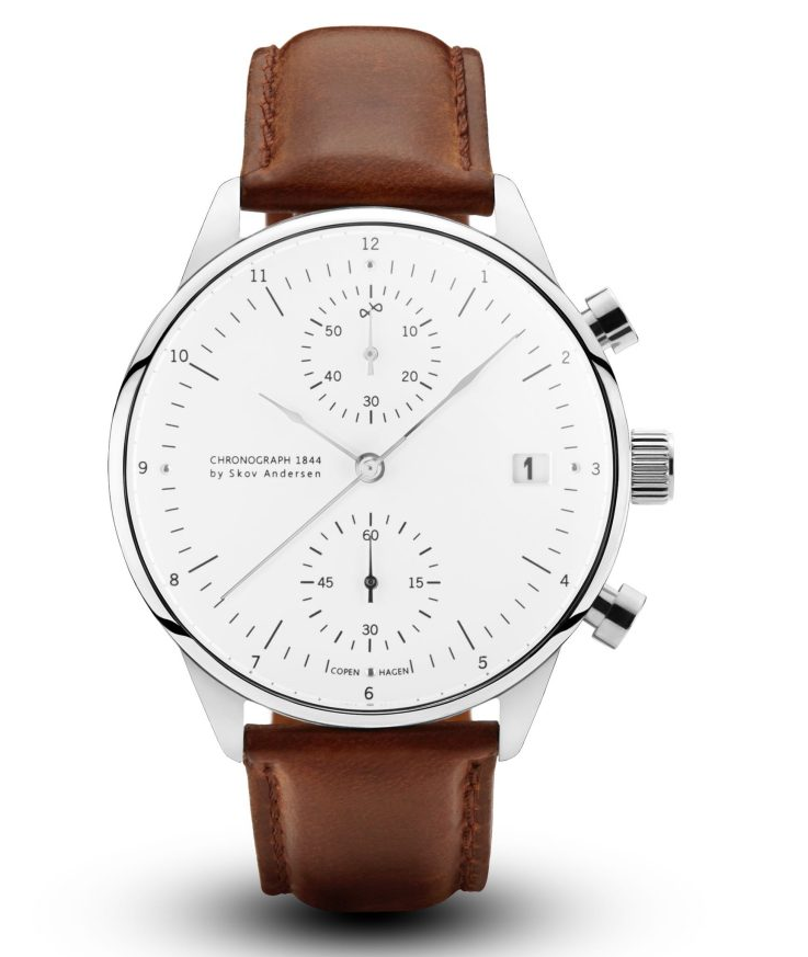 About Vintage 1844 Chronograph Brown Strap-31