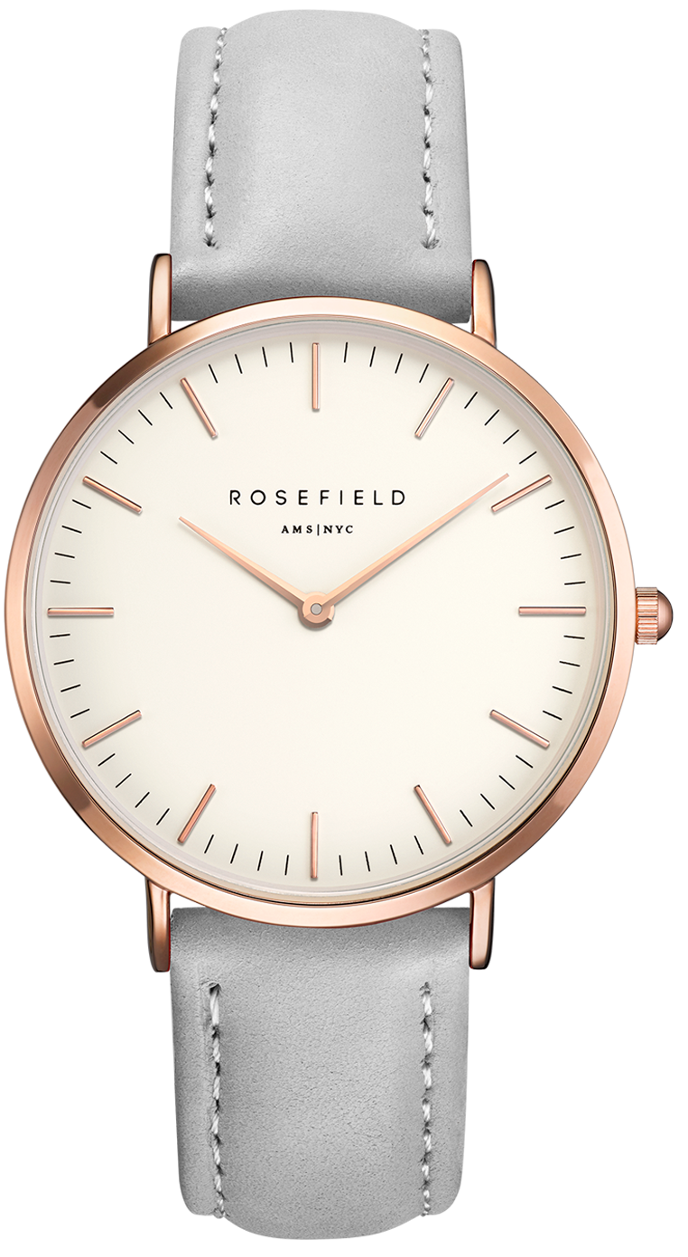 Rosefield The Bowery White Grey Rose Gold-329