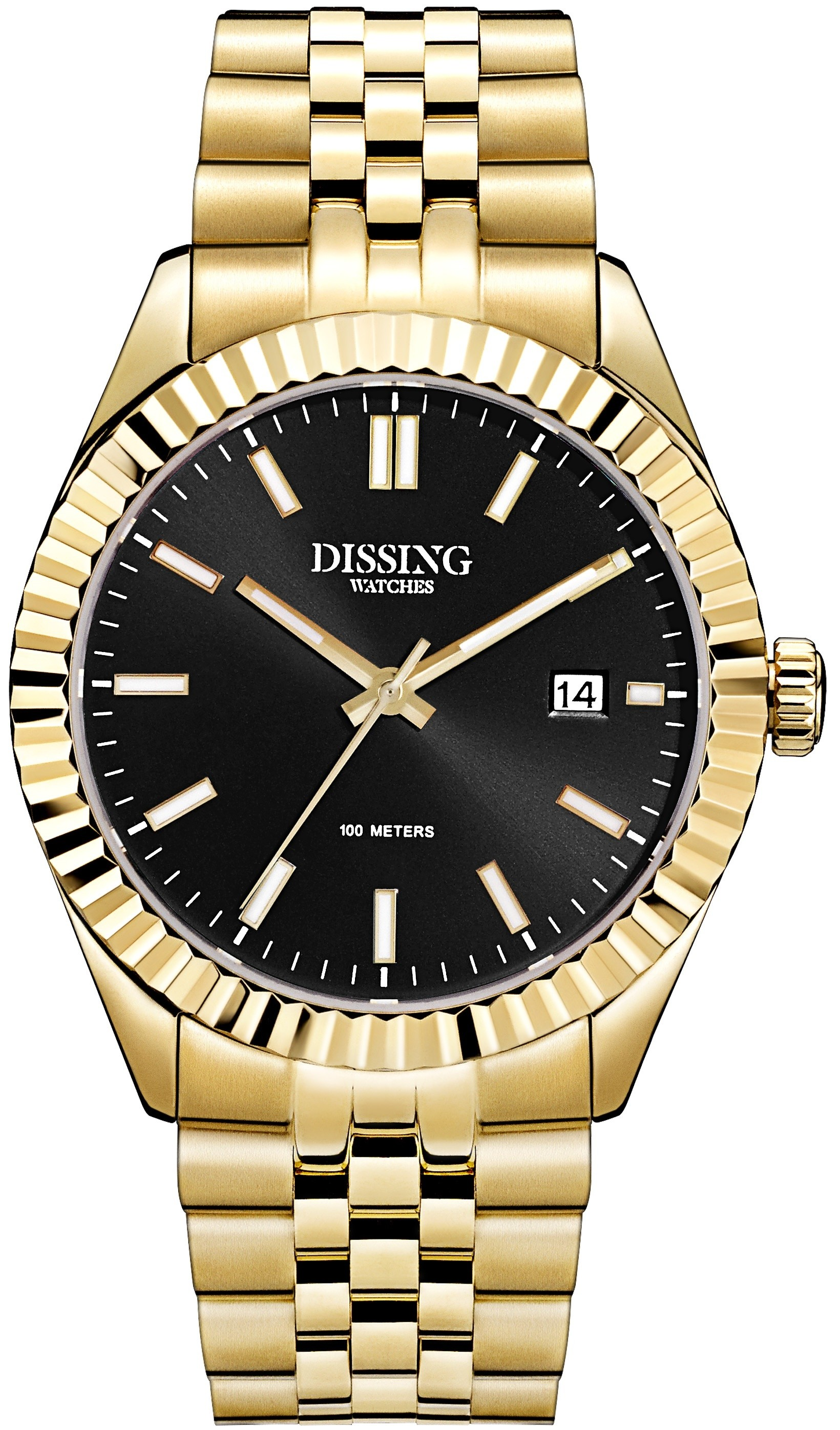 Dissing Date Gold/Black-322