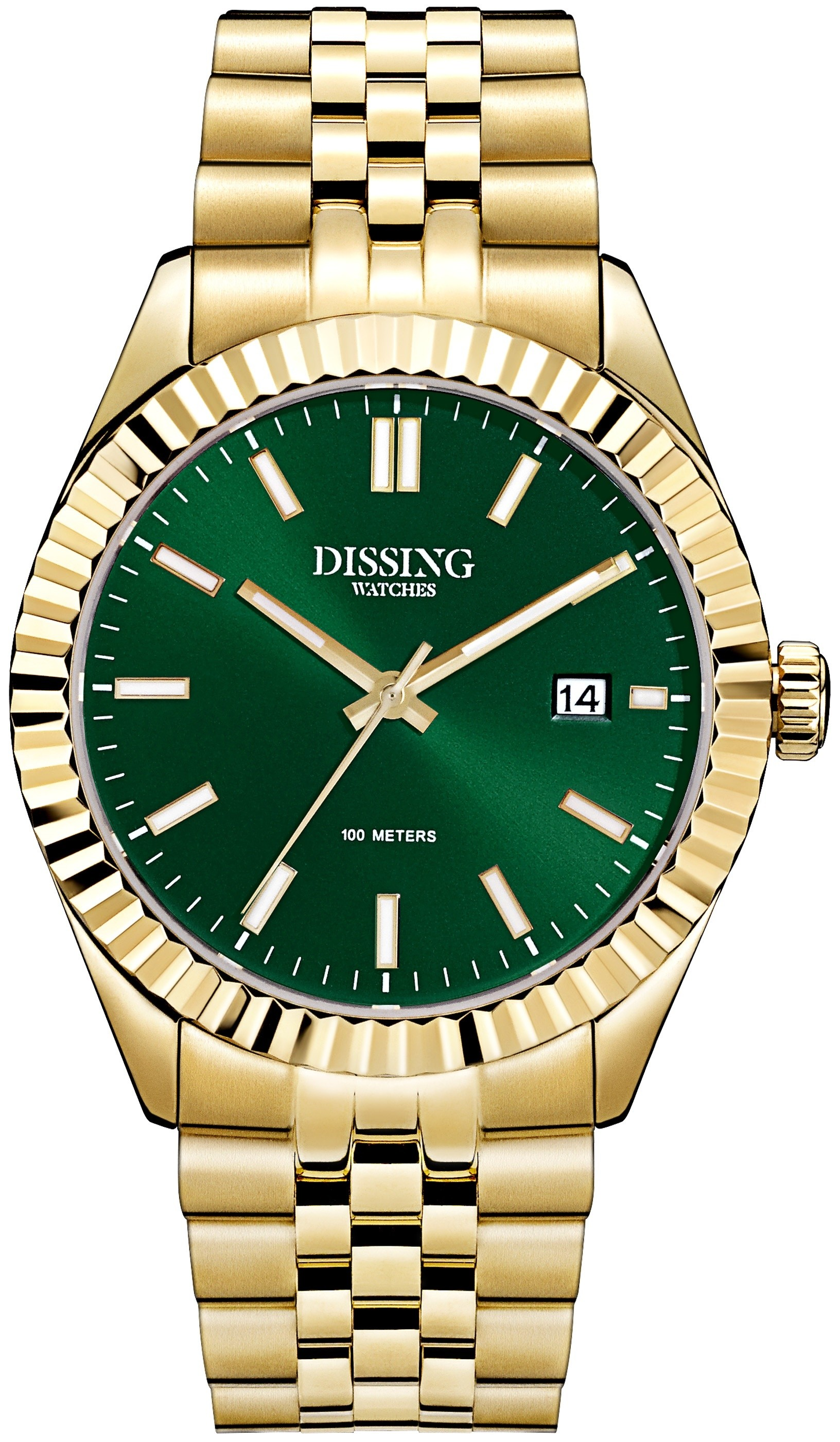 Dissing Date Gold/Green-324