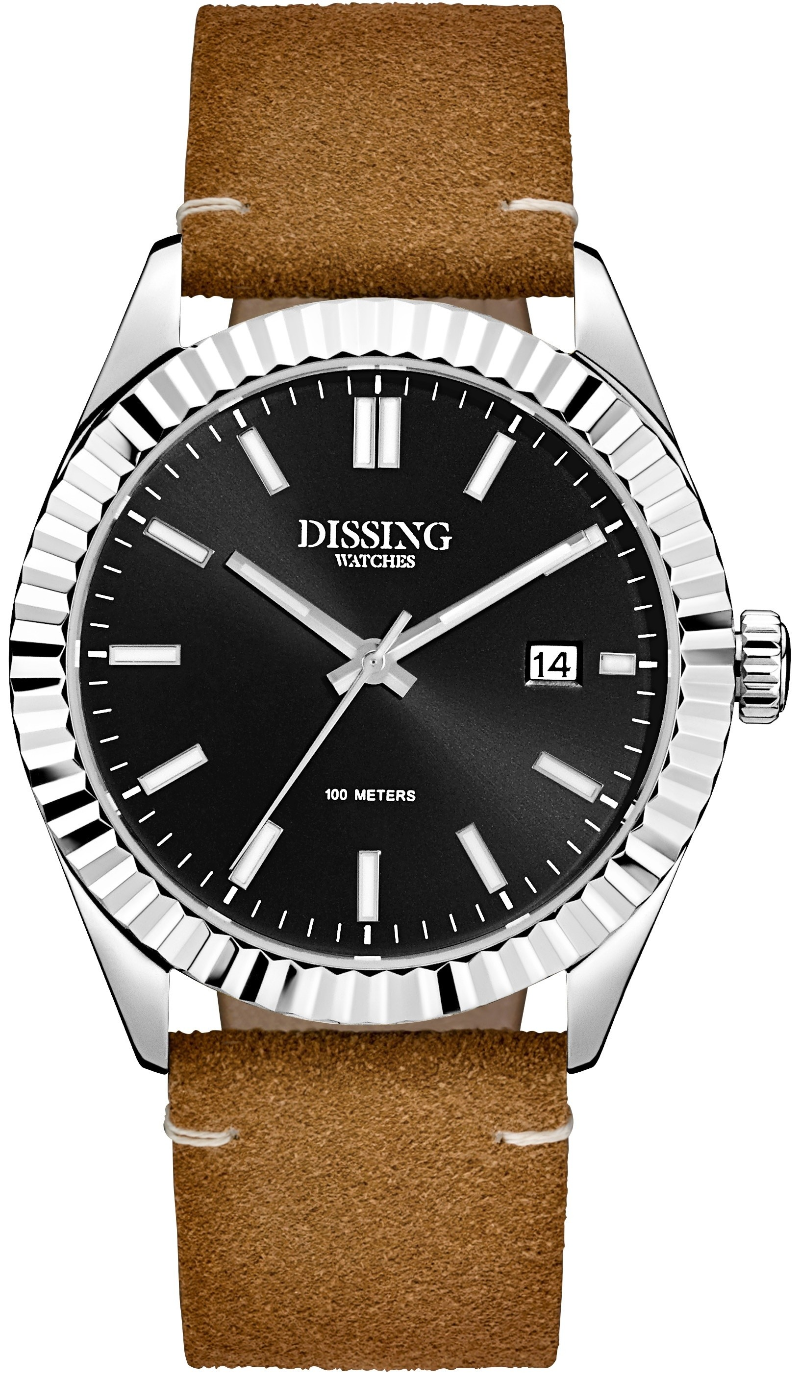 Dissing Date Leather Steel/Black-339