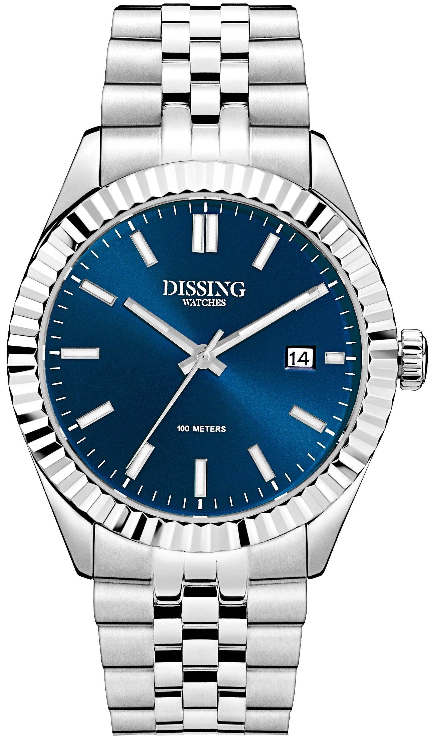 Dissing Date Steel/Blue-333