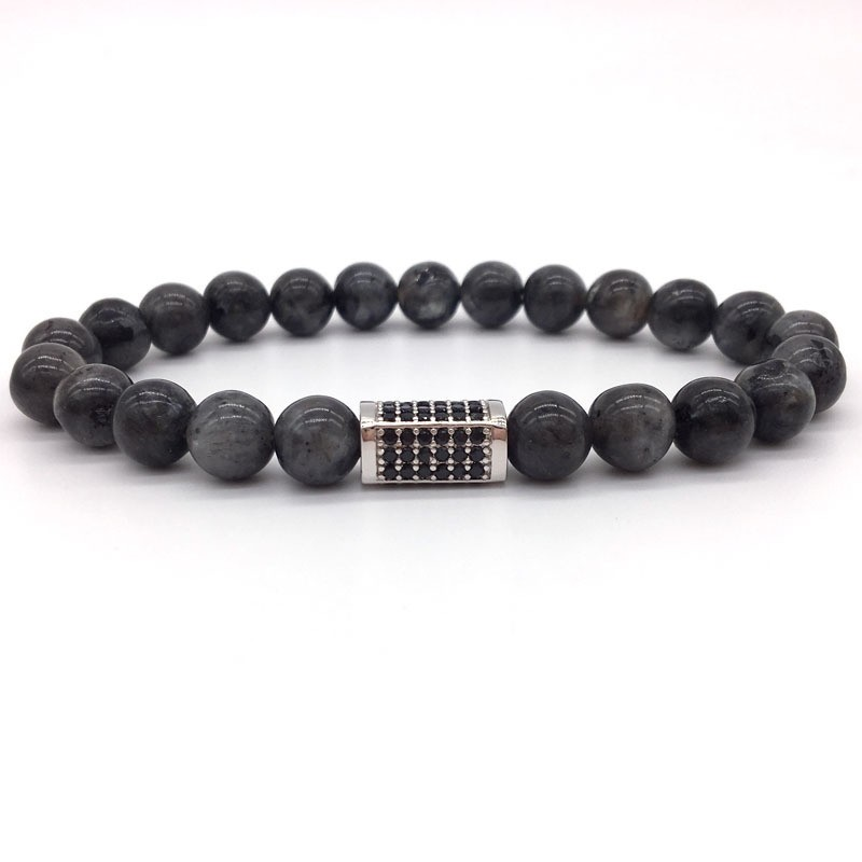 Eye Stone Black Cubos Bracelet-334