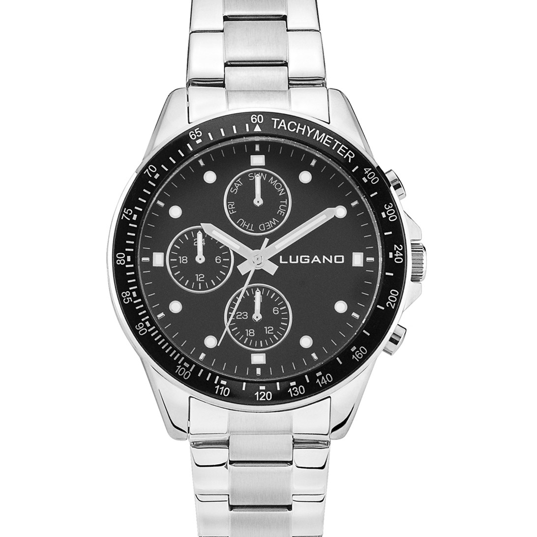 Lugano Chrono Steel/Black-325