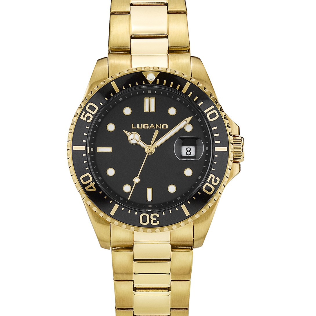Lugano Diver Gold/Black-331