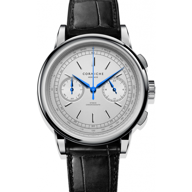 Corniche Heritage Chronograph Steel with White dial-30
