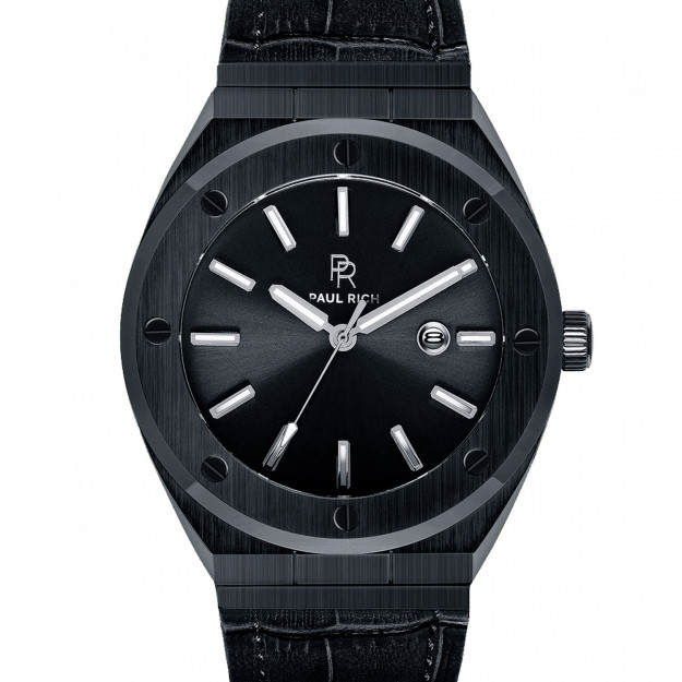 Paul Rich Barons Black Leather-30
