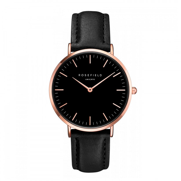 Rosefield The Bowery Black Black Rose Gold-30