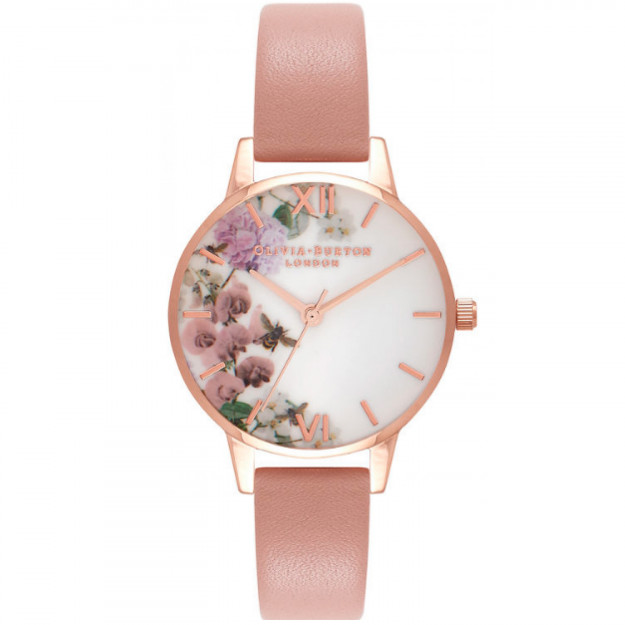 Olivia Burton Enchanted Garden Dusty Pink and Rose Gold-38