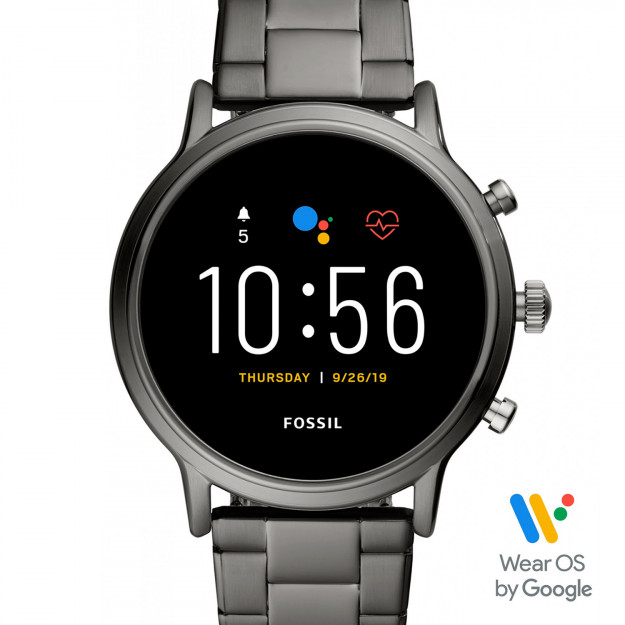 Fossil The Carlyle Hr Smartwatch Smoke Steel FTW4024-30